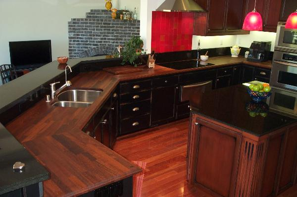 Charmant Custom Wood Solid Surface Kitchen Countertops Sacramento CA Corian  Fabrication